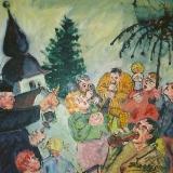 Marjan Skumavc, Lepa nedelja pri Sv. Jakobu (po Vodovnikovi pesmi), 2008