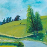 Marjan Skumavc, Resniška krajina z drevesom, 2009