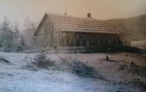 Stara šola na Resniku (začetek 20. stol)